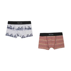Boxers rayé/velo Paul Smith...