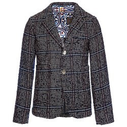 Blazer carreaux 14A Monna Lisa