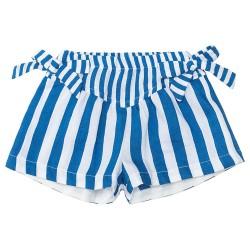 Short rayé bleu Bébé Monna...