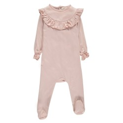 Pyjama Midnight volant rose...