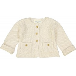Cardigan Cathy ivoire & or...