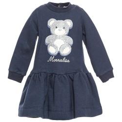 Robe bleue ours Bébé Monna...
