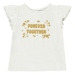 T-shirt Papillon blanc Bébé...