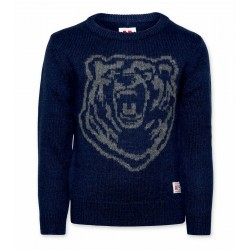 Pull bleu ours Junior AO76