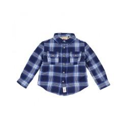 Sur-chemise bleue polaire...