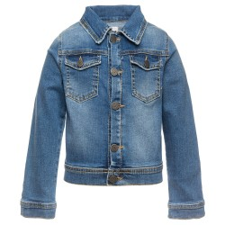 Blouson en jean lion Junior...