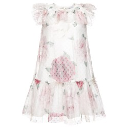 Robe tulle imprimé Junior...