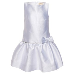 Robe blanche irisée Junior...