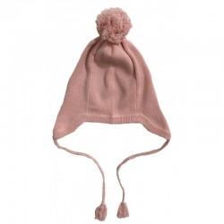 Bonnet rose Bébé Rose & Théo