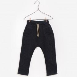 Pantalon moucheté noir 14A...