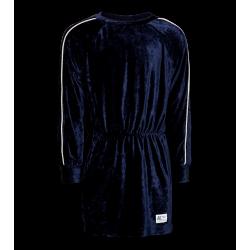 Robe velours bleue Junior AO76