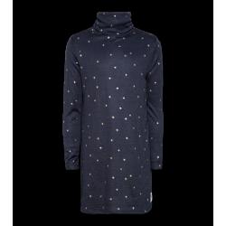 Robe étoiles col bleue 12A...