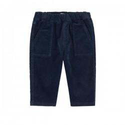 Pantalon velours bleu...