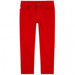 Pantalon rouge fitted...