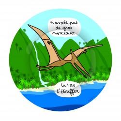 Assiette Volant Dino Petit...