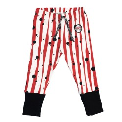 Jeggings rayé rouge Junior...