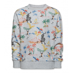 Sweat tropical gris Junior...