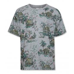 T-shirt MC gris maisons...