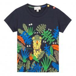 T-shirt panthère tropicale...