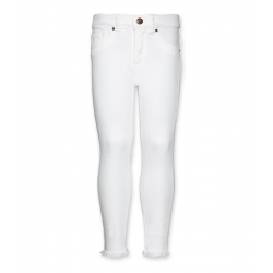 Jean slim blanc Junior AO76