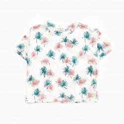 T-shirt imprimé Palmier...