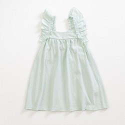Robe vert anis Junior Play Up