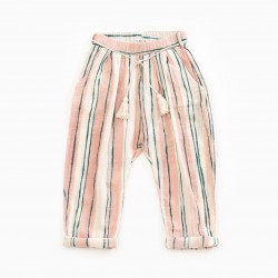 Pantalon rayé Junior Play Up