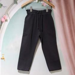 Pantalon taille haute noir...