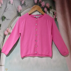 Cardigan fuchsia Junior...