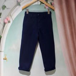 Pantalon maille Bleu marine...