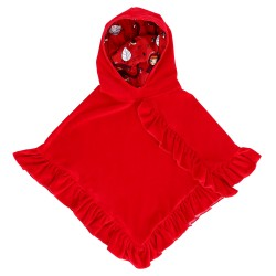 Cape Velours rouge Junior...