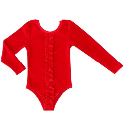 Body ML Velours rouge...