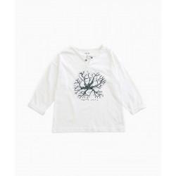 T-shirt blanc racines...