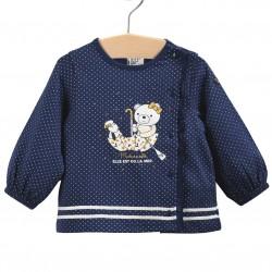 T-shirt ML bleu ourson Bébé...