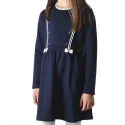 Robe bleue marine Junior EOM