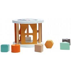 Boîte à formes en bois Magni