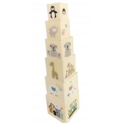 Tour de cubes fantaisie en...