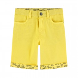 Short jaune Junior Paul...