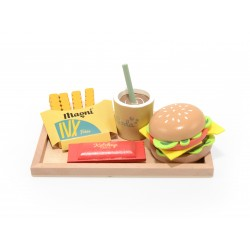 Plateau Burger & frites en...